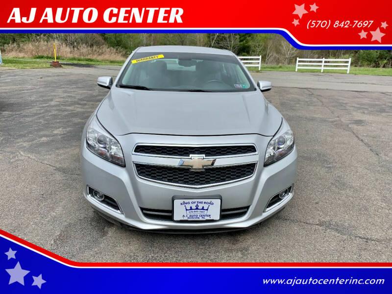 2013 Chevrolet Malibu for sale at AJ AUTO CENTER in Covington PA