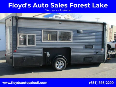 2018 Forest River 16GR for sale at Floyd's Auto Sales Forest Lake in Forest Lake MN