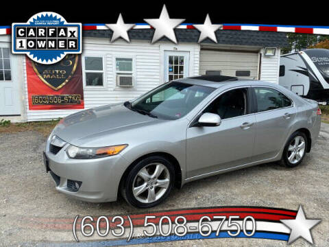 2010 Acura TSX for sale at J & E AUTOMALL in Pelham NH