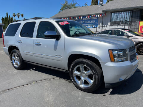 2013 Chevrolet Tahoe for sale at Blue Diamond Auto Sales in Ceres CA