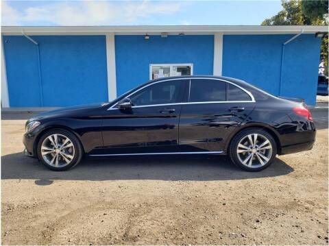2015 Mercedes-Benz C-Class for sale at Khodas Cars in Gilroy CA