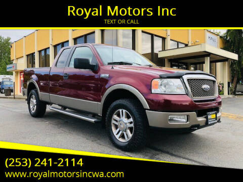2005 Ford F-150 for sale at Royal Motors Inc in Kent WA