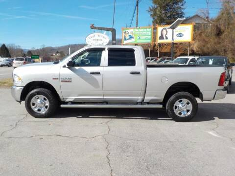 2016 RAM Ram Pickup 2500 for sale at EAST MAIN AUTO SALES in Sylva NC