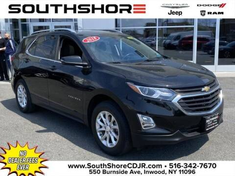 2018 Chevrolet Equinox for sale at South Shore Chrysler Dodge Jeep Ram in Inwood NY