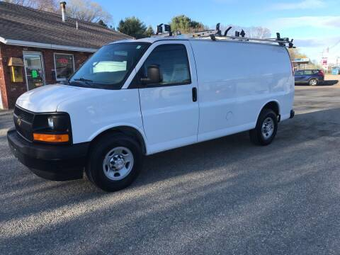 2017 Chevrolet Express Cargo for sale at J.W.P. Sales in Worcester MA