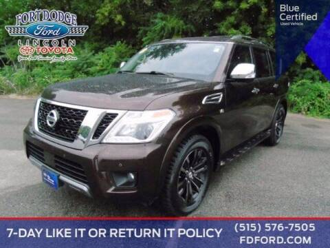 2019 Nissan Armada for sale at Fort Dodge Ford Lincoln Toyota in Fort Dodge IA