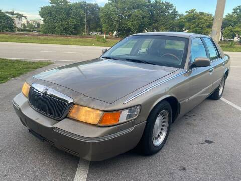 2002 Mercury Grand Marquis for sale at UNITED AUTO BROKERS in Hollywood FL