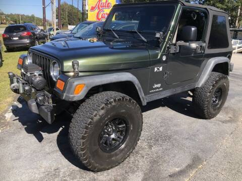 2005 Jeep Wrangler for sale at Auto Cars in Murrells Inlet SC