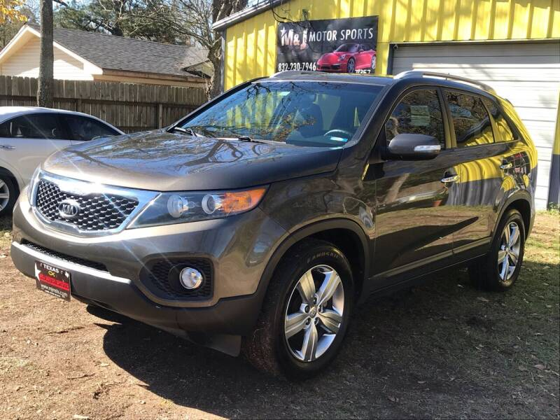 2012 Kia Sorento for sale at M & J Motor Sports in New Caney TX