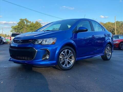 2019 Chevrolet Sonic for sale at iDeal Auto in Raleigh NC