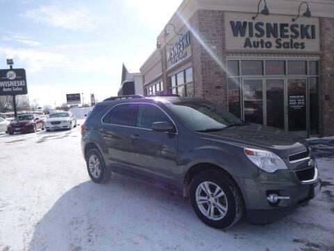 2012 Chevrolet Equinox for sale at Wisneski Auto Sales, Inc. in Green Bay WI