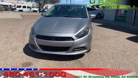 2015 Dodge Dart for sale at UPARK WE SELL AZ in Mesa AZ