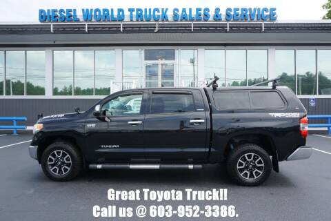 2014 Toyota Tundra for sale at Diesel World Truck Sales in Plaistow NH