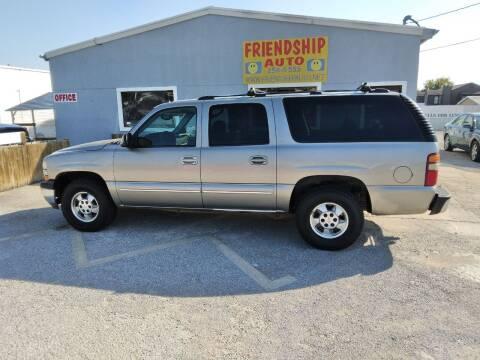 2003 Chevrolet Suburban for sale at Friendship Auto Sales in Broken Arrow OK
