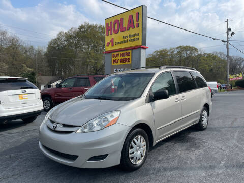 2009 Toyota Sienna for sale at No Full Coverage Auto Sales in Austell GA