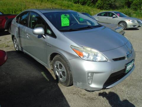 2012 Toyota Prius for sale at Wimett Trading Company in Leicester VT