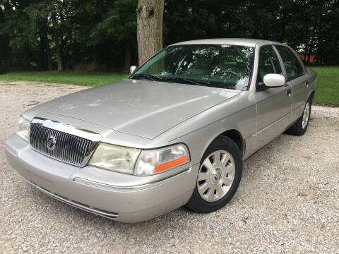2004 Mercury Grand Marquis for sale at Kenny Vice Ford Sales Inc - USED Vehicle Inventory in Ladoga IN
