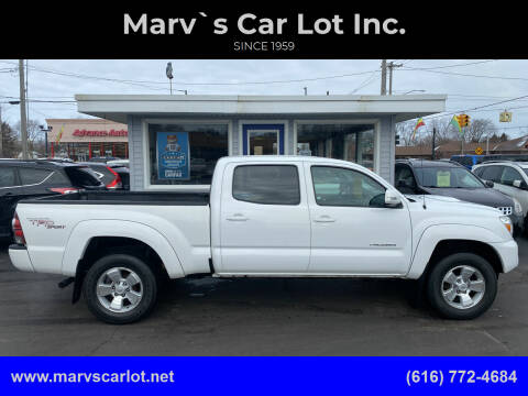 2013 Toyota Tacoma for sale at Marv`s Car Lot Inc. in Zeeland MI