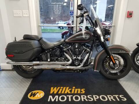 2018 Harley-Davidson Heritage Softail Classic for sale at WILKINS MOTORSPORTS in Brewster NY