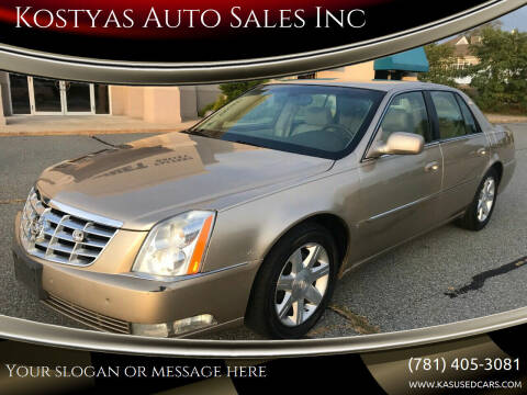 2006 Cadillac DTS for sale at Kostyas Auto Sales Inc in Swansea MA
