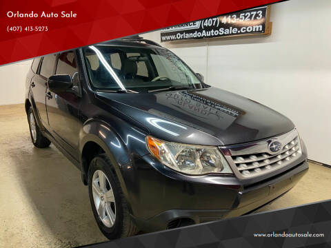 2012 Subaru Forester for sale at Orlando Auto Sale in Orlando FL