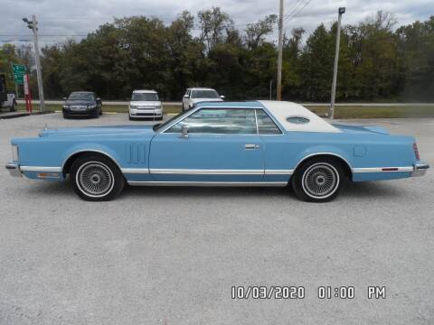 1978 Lincoln Mark V for sale at Town and Country Motors in Warsaw MO