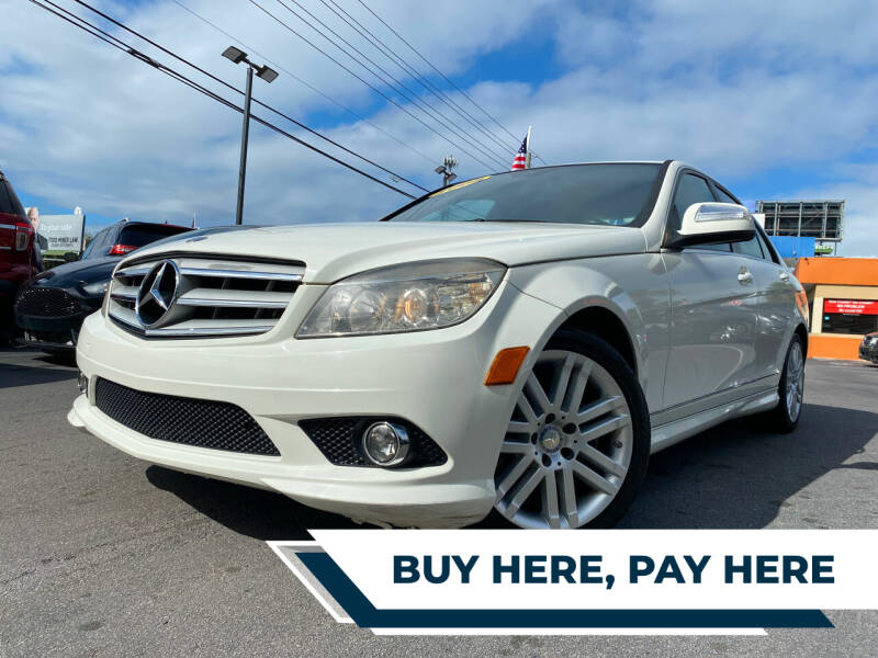 2008 Mercedes-Benz C-Class for sale at LATINOS MOTOR OF ORLANDO in Orlando FL