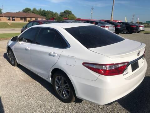2016 Toyota Camry for sale at LYNDON MOTORS in Lyndon KS