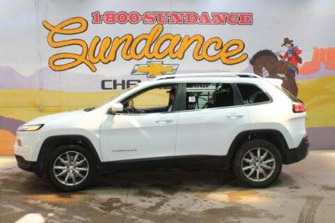 2018 Jeep Cherokee for sale at Sundance Chevrolet in Grand Ledge MI