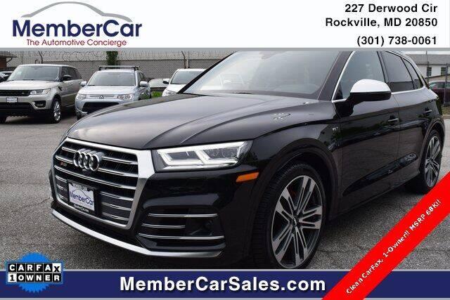 2018 Audi SQ5 for sale at MemberCar in Rockville MD