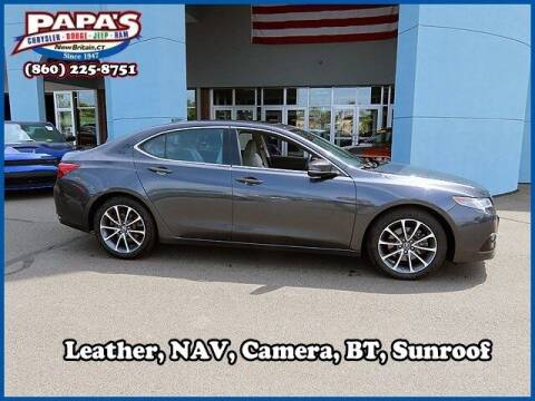 2016 Acura TLX for sale at Papas Chrysler Dodge Jeep Ram in New Britain CT