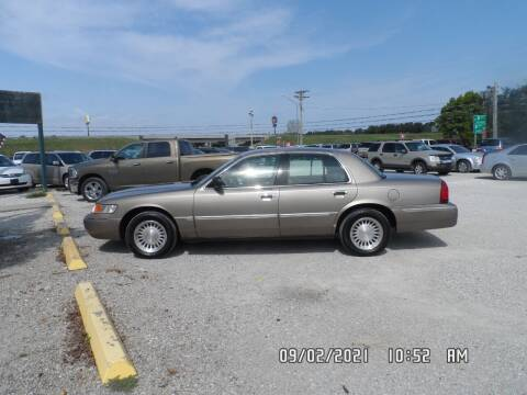 2002 Mercury Grand Marquis for sale at Town and Country Motors in Warsaw MO