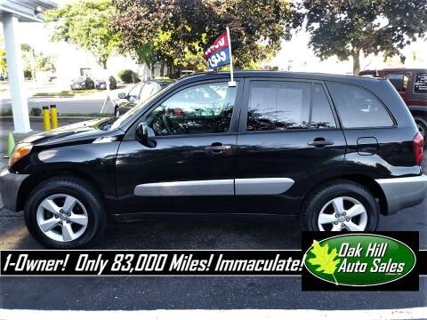 2005 Toyota RAV4 for sale at Oak Hill Auto Sales of Wooster, LLC in Wooster OH