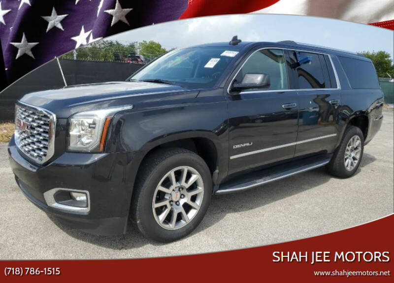 2020 GMC Yukon XL for sale at Shah Jee Motors in Woodside NY