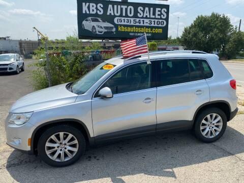 2010 Volkswagen Tiguan for sale at KBS Auto Sales in Cincinnati OH