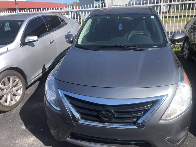 2017 Nissan Versa for sale at Auction Direct Plus in Miami FL