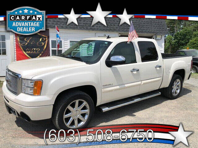 2012 GMC Sierra 1500 for sale at J & E AUTOMALL in Pelham NH