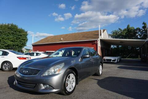 2011 Infiniti G25 Sedan for sale at HD Auto Sales Corp. in Reading PA