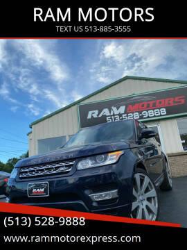 2014 Land Rover Range Rover Sport for sale at RAM MOTORS in Cincinnati OH