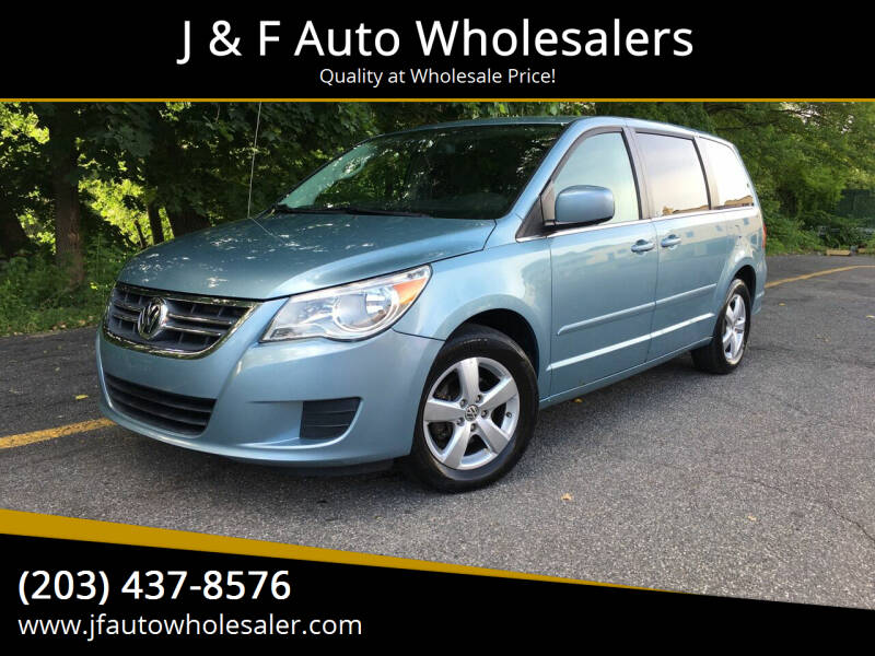 2009 Volkswagen Routan for sale at J & F Auto Wholesalers in Waterbury CT