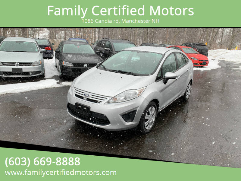 2012 Ford Fiesta for sale at Family Certified Motors in Manchester NH
