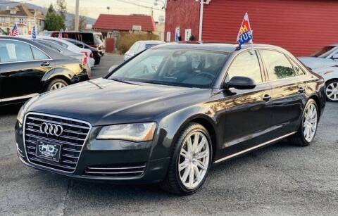 2012 Audi A8 L for sale at HD Auto Sales Corp. in Reading PA