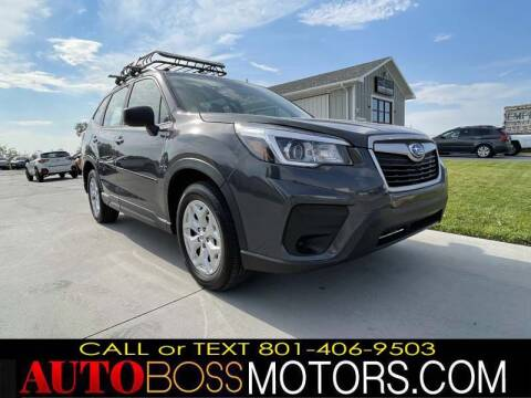 2020 Subaru Forester for sale at Auto Boss in Woods Cross UT