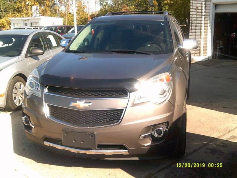 2011 Chevrolet Equinox for sale at DONNIE ROCKET USED CARS in Detroit MI
