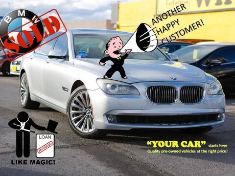 2010 BMW 7 Series for sale at The Car Company in Las Vegas NV