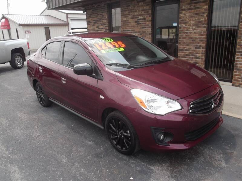 2020 Mitsubishi Mirage G4 for sale at Dietsch Sales & Svc Inc in Edgerton OH