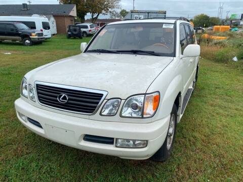 2002 Lexus LX 470 for sale at Z Motors in Chattanooga TN