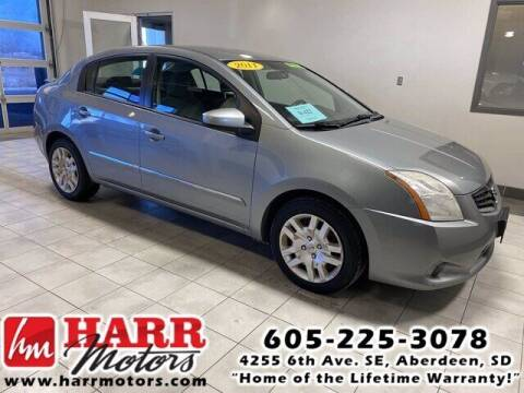 2011 Nissan Sentra for sale at Harr's Redfield Ford in Redfield SD