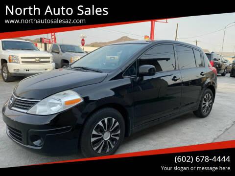 2012 Nissan Versa for sale at North Auto Sales in Phoenix AZ