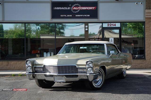 1968 Cadillac DeVille for sale in Mecerville, NJ